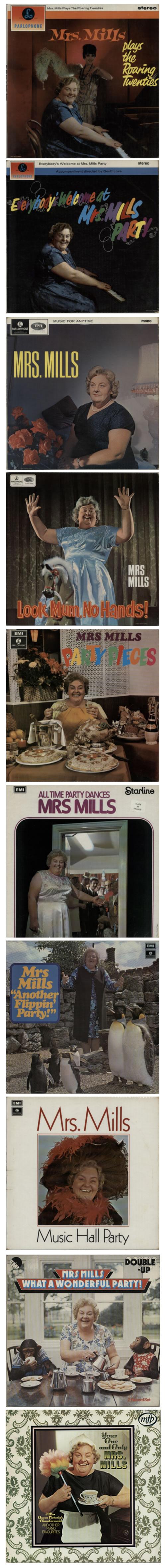 Mrs. Mills Mrs Mills Album Collection Vinyl Box Set UK MMQVXMR589740