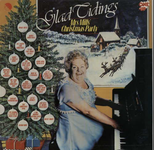 Mrs. Mills Mrs Mills' Glad Tidings Christmas Party vinyl LP album (LP record) UK MMQLPMR605655