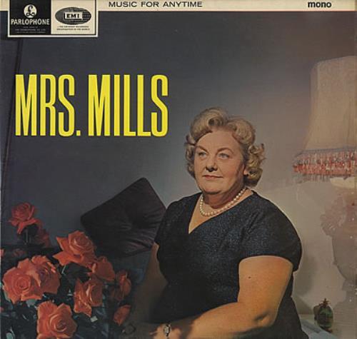 Mrs Mills Music For Anytime Uk Vinyl Lp Album Lp Record