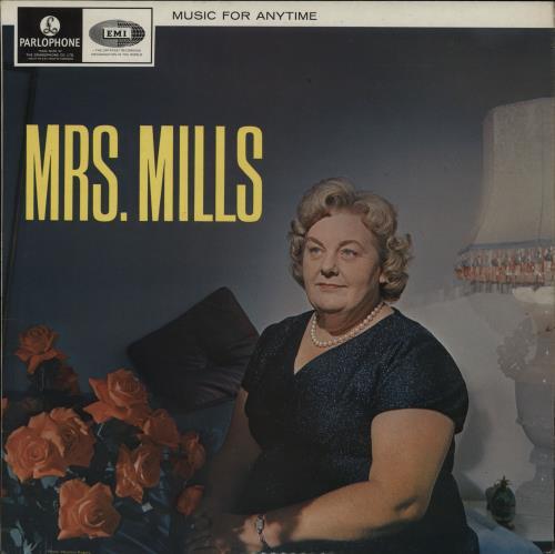 Mrs. Mills Music For Anytime vinyl LP album (LP record) UK MMQLPMU762998