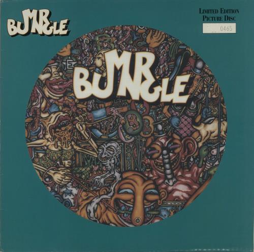 Mr Bungle Mr Bungle picture disc LP (vinyl picture disc album) UK MBUPDMR80751