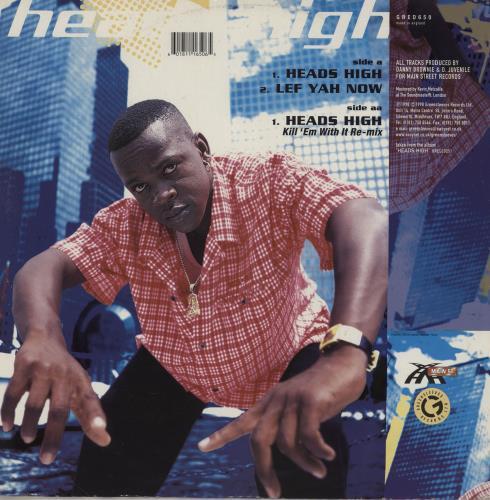 "Mr Vegas Heads High 12"" vinyl single (12 inch record / Maxi-single) UK 1XA12HE757121"