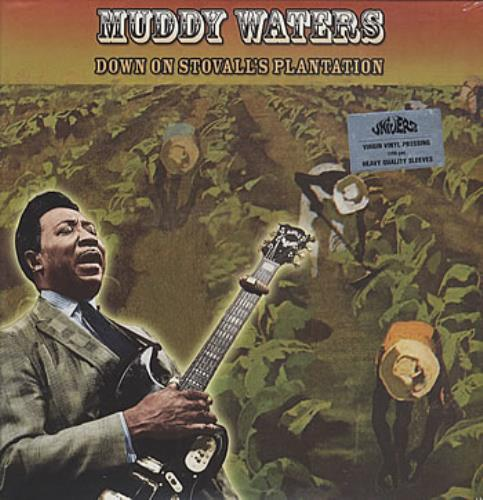 Muddy Waters Down On Stovall's Plantation US vinyl LP album