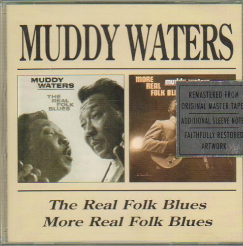 Muddy Waters The Reak Folk Blues / More Real Folk Blues CD album (CDLP) UK MDWCDTH648134