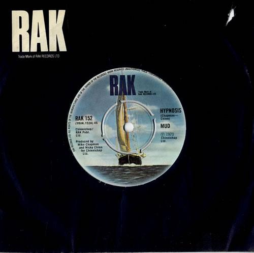 "Mud Hypnosis 7"" vinyl single (7 inch record) UK MD.07HY564492"