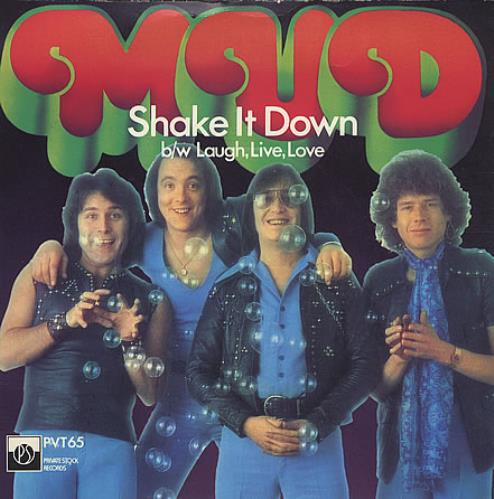 """Mud Shake It Down - Picture Sleeve 7"""" vinyl single (7 inch record) UK MD.07SH405457"""