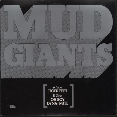 "Mud Tiger Feet - P/s 7"" vinyl single (7 inch record) UK MD.07TI242418"