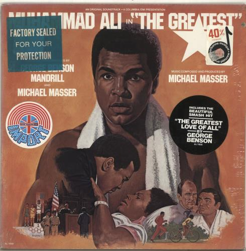 Muhammad Ali The Greatest - Sealed vinyl LP album (LP record) US NUHLPTH696968