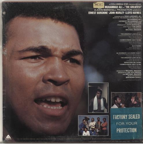 Muhammad Ali The Greatest - Sealed vinyl LP album (LP record) US NUHLPTH696968