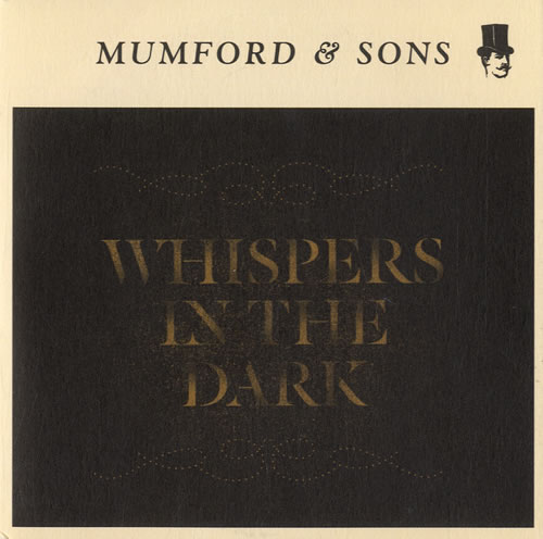 """Mumford & Sons Whispers In The Dark CD single (CD5 / 5"""") UK M3DC5WH584217"""