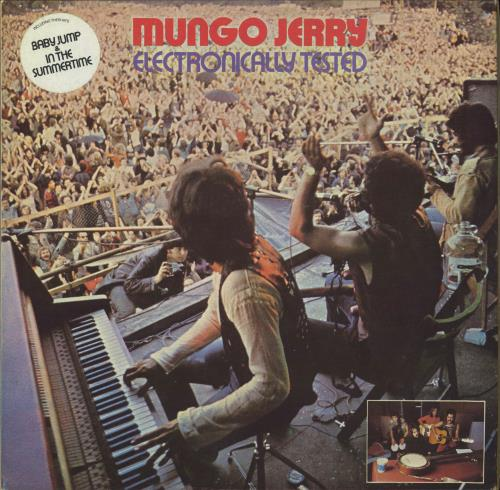 Mungo Jerry Electronically Tested - EX vinyl LP album (LP record) UK MUNLPEL710148
