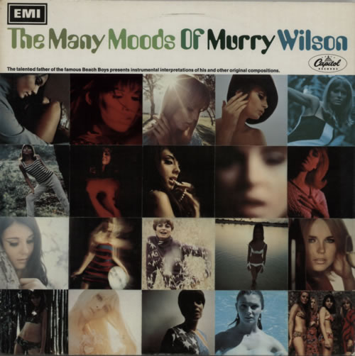 Murry Wilson The Many Moods Of Murry Wilson - Factory Sample vinyl LP album (LP record) UK YWLLPTH601295
