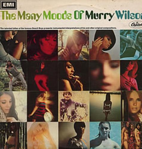 Murry Wilson The Many Moods Of Murry Wilson - mono vinyl LP album (LP record) UK YWLLPTH210312