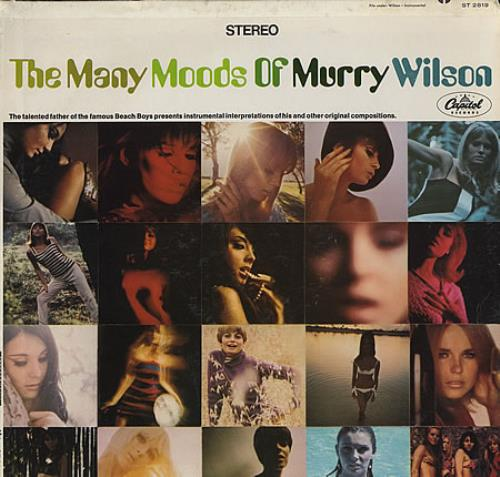 Murry Wilson The Many Moods Of Murry Wilson vinyl LP album (LP record) US YWLLPTH365680