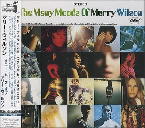 Murry Wilson The Many Moods Of Murry Wilson CD album (CDLP) Japanese YWLCDTH376125