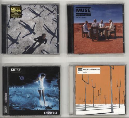 Muse 1999-2012 Quantity Of Studio Albums - 7 x CDs CD album (CDLP) UK USECDQU716942