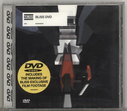Muse Bliss DVD Single UK USEDSBL195330