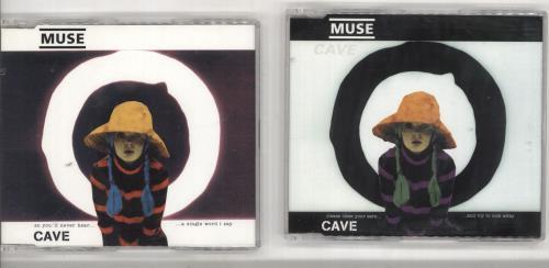 Muse Cave - CDs 1 & 2 2-CD single set (Double CD single) UK USE2SCA165955