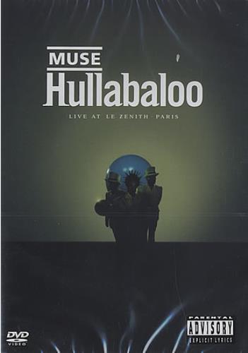 Muse Hullabaloo DVD UK USEDDHU394919
