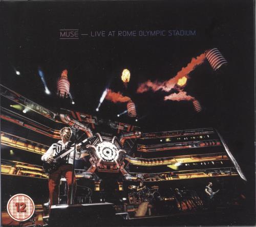 Muse Live At Rome Olympic Stadium 2-disc CD/DVD set UK USE2DLI722928