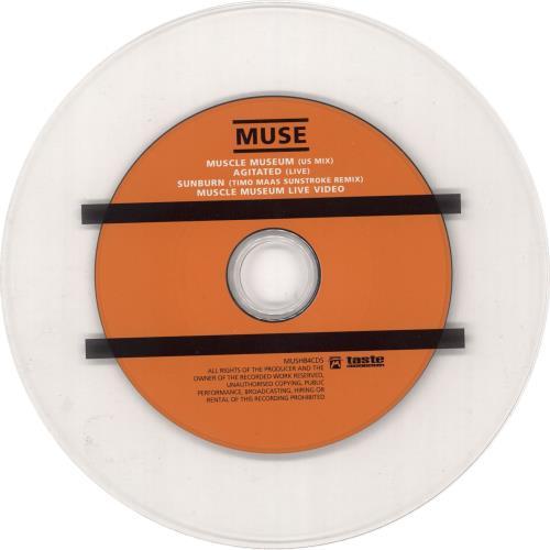 "Muse Muscle Museum [2000] - CD1 CD single (CD5 / 5"") UK USEC5MU208193"