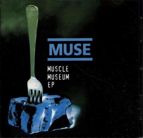 Muse Muscle Museum EP - 1st issue UK CD single (CD5 / 5