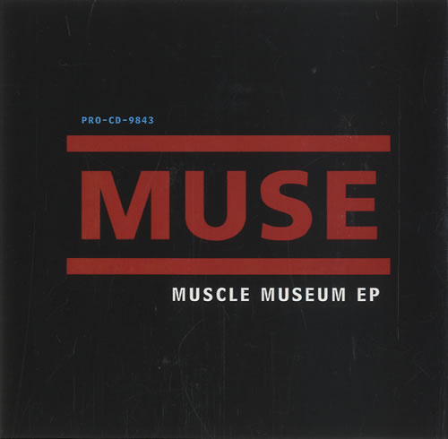 "Muse Muscle Museum EP CD single (CD5 / 5"") US USEC5MU264669"