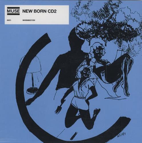 Muse Newborn 2-CD single set (Double CD single) UK USE2SNE187066