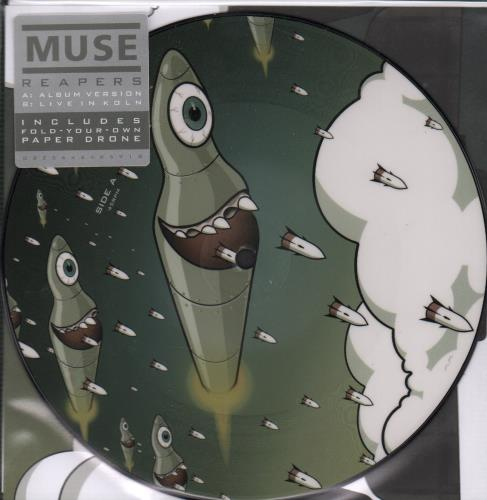 "Muse Reapers - RSD16 7"" vinyl picture disc 7 inch picture disc single UK USE7PRE650987"