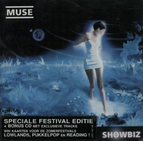 Muse Showbiz - Special Festival Edition 2 CD album set (Double CD) Dutch USE2CSH423111