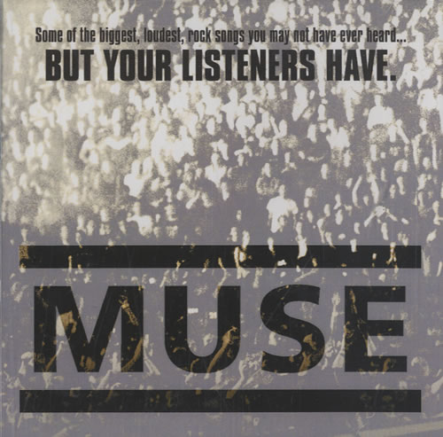 Muse Some Of The Biggest, Loudest, Rock Songs You May Not Have Ev CD-R acetate US USECRSO469961