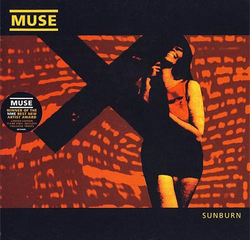 "Muse Sunburn - Clear Vinyl 7"" vinyl single (7 inch record) UK USE07SU206665"