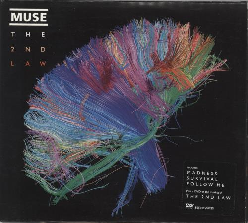 Muse The 2nd Law 2-disc CD/DVD set UK USE2DTH722885