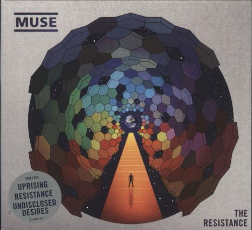 Muse The Resistance CD album (CDLP) UK USECDTH480365