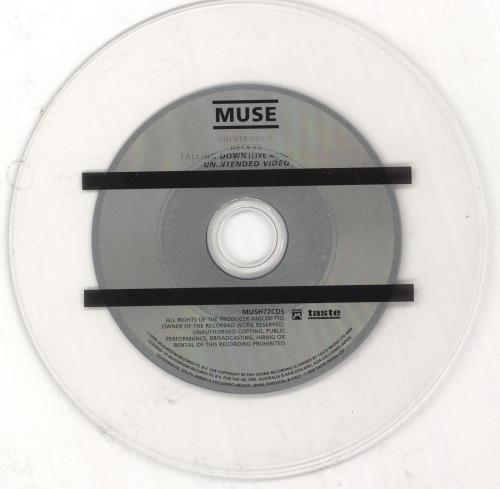 "Muse Unintended - CD1 CD single (CD5 / 5"") UK USEC5UN211649"