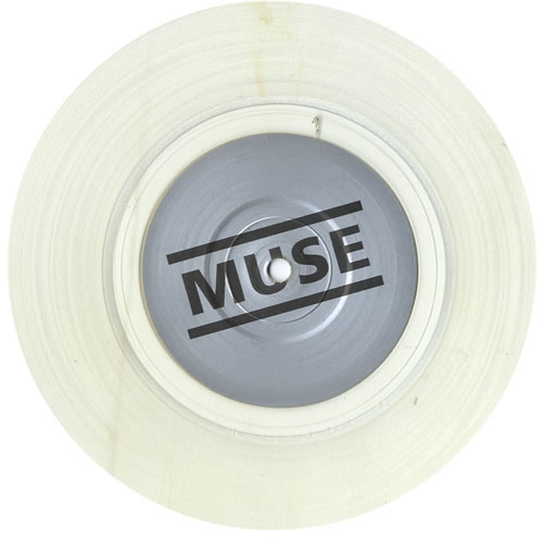 "Muse Unintended - Clear Vinyl 7"" vinyl single (7 inch record) UK USE07UN198911"