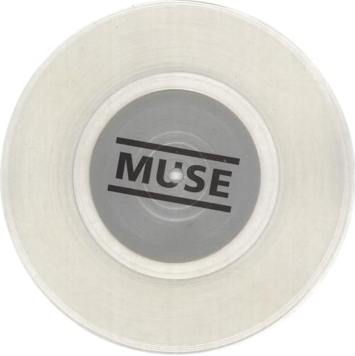 """Muse Unintended - Clear Vinyl 7"""" vinyl single (7 inch record) UK USE07UN695125"""