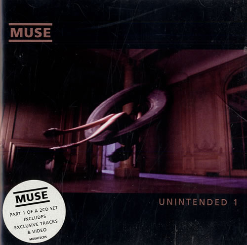 Muse Unintended UK 2-CD single set (Double CD single) (173503)