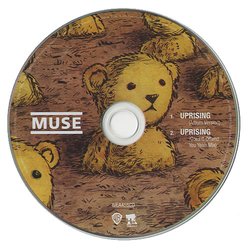 "Muse Uprising CD single (CD5 / 5"") UK USEC5UP480377"