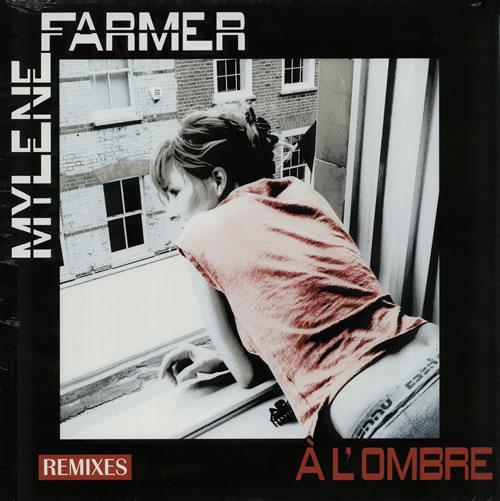 """Mylene Farmer A L'Ombre 12"""" vinyl single (12 inch record / Maxi-single) French MYL12AL576782"""