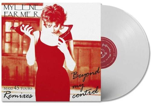 "Mylene Farmer Beyond My Control - White Vinyl 12"" vinyl single (12 inch record / Maxi-single) French MYL12BE705923"