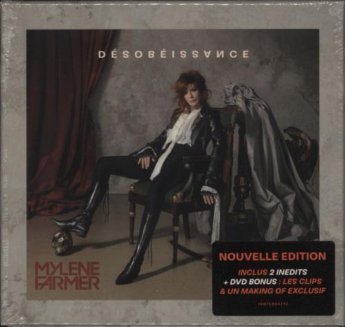 Mylene Farmer Desobeissance - Nouvelle Edition 2-disc CD/DVD set French MYL2DDE725978