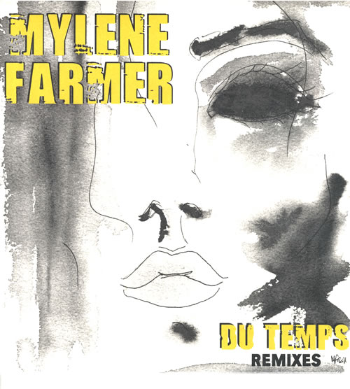"Mylene Farmer Du Temps - Sealed 12"" vinyl single (12 inch record / Maxi-single) French MYL12DU558293"