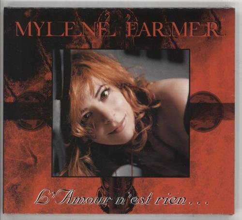 "Mylene Farmer L'Amour N'est Rien - Sealed CD single (CD5 / 5"") French MYLC5LA353408"