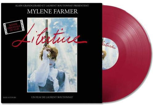 "Mylene Farmer Libertine - Red Vinyl - Sealed 12"" vinyl single (12 inch record / Maxi-single) French MYL12LI708411"