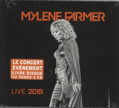 Mylene Farmer Live 2019 - Sealed 2 CD album set (Double CD) French MYL2CLI739702