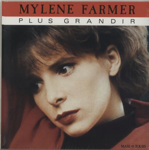 "Mylene Farmer Plus Grandir - Sealed 12"" vinyl single (12 inch record / Maxi-single) French MYL12PL687389"