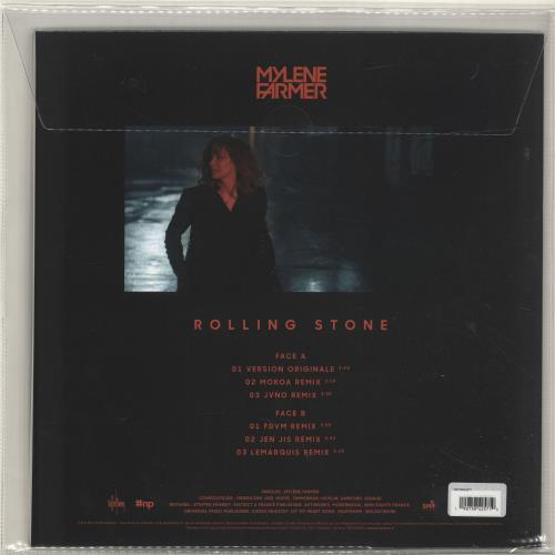 "Mylene Farmer Rolling Stone - Complete Set of Six Coloured Vinyl 12""s 12"" vinyl single (12 inch record / Maxi-single) French MYL12RO698124"