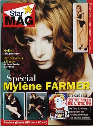 Mylene Farmer Star Mag magazine French MYLMAST289558
