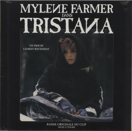 "Mylene Farmer Tristana (Bande Originale Du Clip) - Sealed 12"" vinyl single (12 inch record / Maxi-single) French MYL12TR687388"